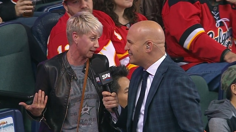 Video: Justin Dowling teki NHL-uransa avausmaalin – äiti missasi maalin ja punastui tv-haastattelussa