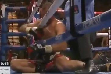 Video: Canelo Alavarez nukutti vastustajansa hurjilla lyönneillä – nappasi neljännen eri painoluokan mestaruusvyön
