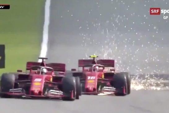 Video: Brasilian GP:ssä älytön loppu – Ferrarit kolaroivat keskenään, Räikkönen nousi huikeasti viidenneksi