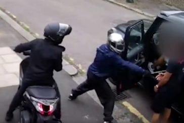 Video: Uutta kuvaa heinäkuisesta ryöstöyrityksestä - Sead Kolašinac kävi varkaiden päälle vaikka häntä lyötiin teräaseella