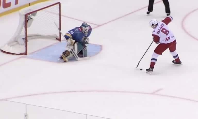 Video: Magnus Pääjärvi veivasi huikean rankkarimaalin KHL:ssä