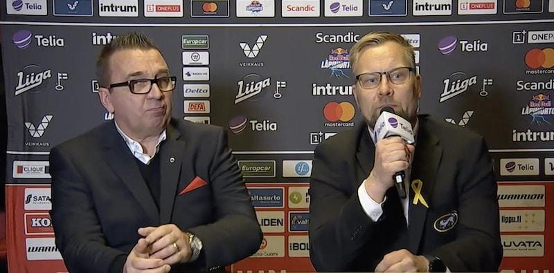 Video: Mikko Manner antoi upeasti lehdistötilaisuudessa tukensa potkut saanelle Sport-luotsille
