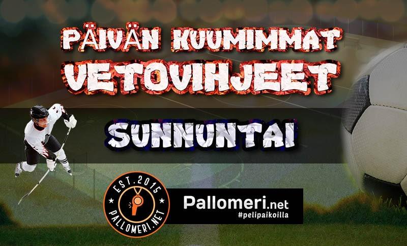 KHL-vihjeet Jokerit Päivän kuumimmat vetovihjeet futisvihjeet sunnuntai - pallomeri.net