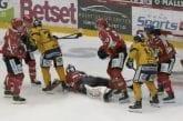 Video: Lukon Pathrik Westerholm määrättiin pelikieltoon potkaisemisesta