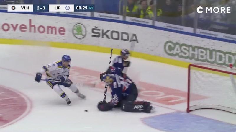 SHL Växjö Viktor Andren / Pallomeri.net