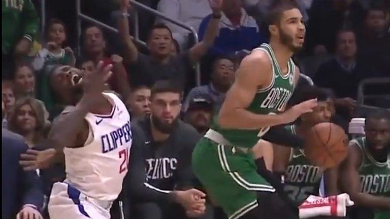 Video: Clippersin Patrick Beverley sukelsi härskisti NBA:ssa – tuomaristo meni miinaan