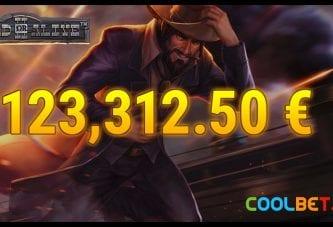 Suomalaisasiakas nappasi Coolbetin kasinolta yli 123 000 euron voiton!