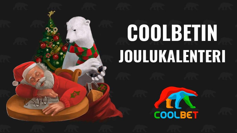 Coolbetin joulukalenteri: 5€ ilmaisvetoja tarjolla keskiviikkona!