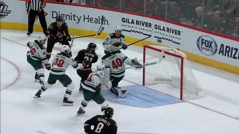 Devan Dubnyk Minnesota Wild / Pallomeri.net