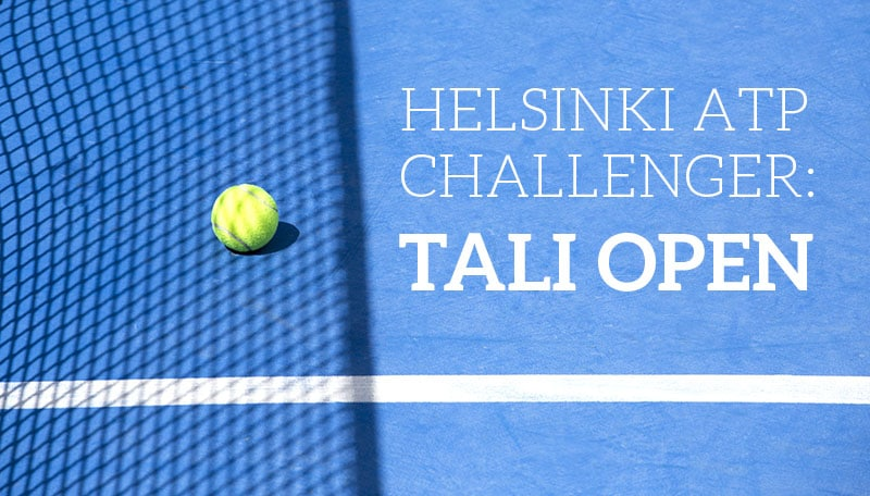 ATP Challenger Helsinki – Tali Open: Tässä ilmainen live stream turnaukseen!