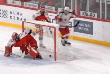 Video: Kirill Kaprizov teki hävyttömän häkin KHL:ssä - kiekko pesään maalin takaa