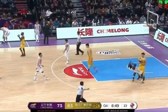Video: Ex-NBA pelaaja nöyryytti vastustajaa Kiinan liigassa - kosti härskin sukelluksen samalla mitalla
