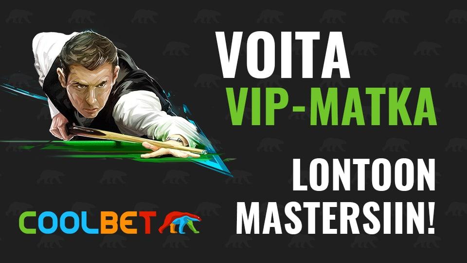 KISA! Veikkaa Snookerin UK Championshipin voittaja ja voita VIP-matka The Mastersiin!