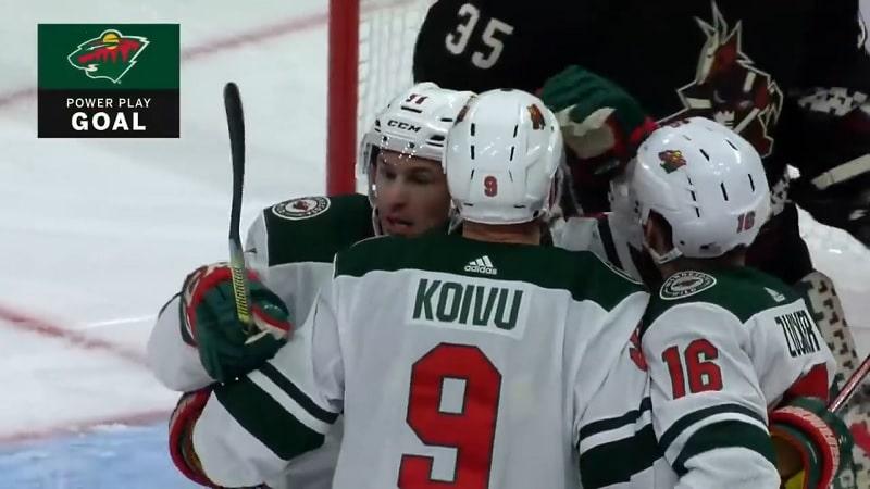 Mikko Koivu Minnesota Wild / Pallomeri.net