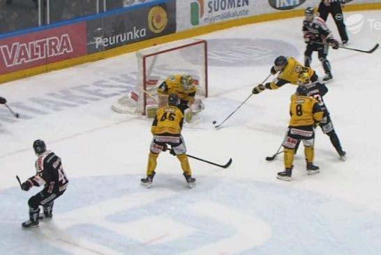 Video: SaiPan Markus Kojo tunaroi pahasti - oma maali ratkaisi pelin