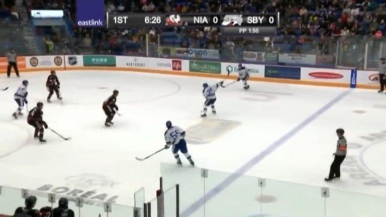 Video: Kalle Loponen maalasi OHL:ssä – kipakka lämäri yläkulmaan