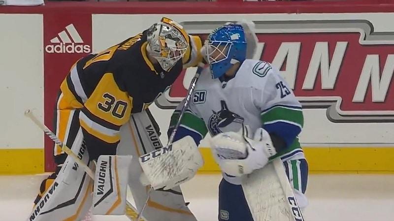 Matt Murray Pittsburgh Penguins Jacob Markström Vancouver Canucks / Pallomeri.net