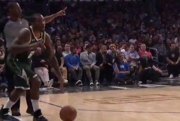 Video: NBA-pelaaja jäätyi nolosti ja unohti perussäännön - lähti sivurajalta kuljettamaan
