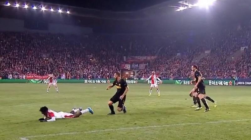 Slavia Prahan rankkari vs Inter Milan / Pallomeri.net