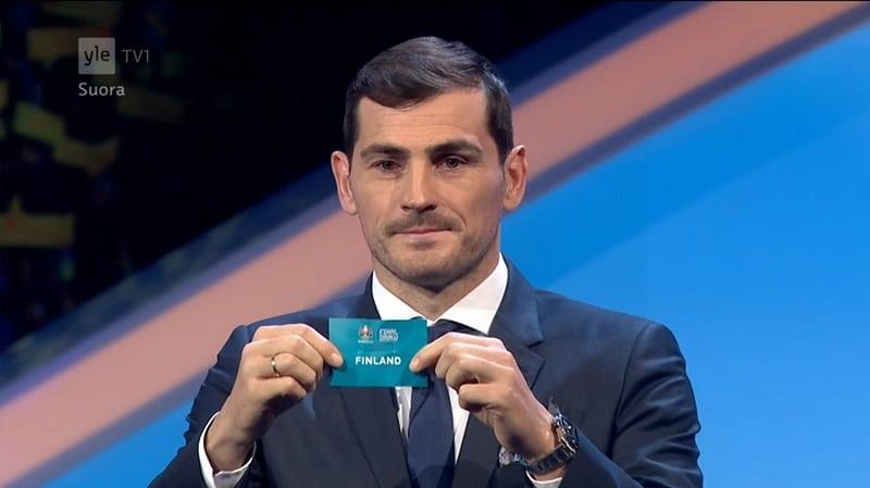 Jalkapallon EM-kisojen lohkot arvottiin – Huuhkajat kivikovaan B-lohkoon