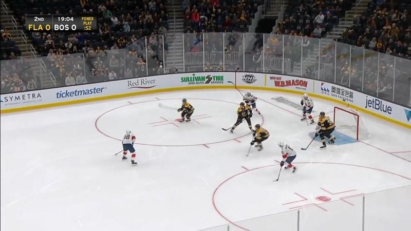 Hetki ennen kuin valot sammuvat TD Gardenista NHL / Pallomeri.net