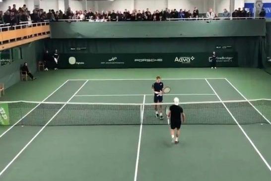 Video: Otto Virtanen nappasi upean voiton Talissa - Thomas Fabbiano (ATP-117) kaatui!