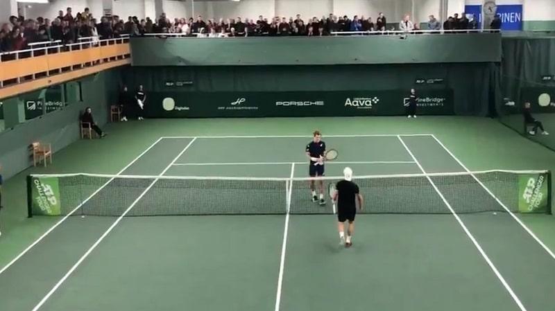 Video: Otto Virtanen nappasi upean voiton Talissa – Thomas Fabbiano (ATP-117) kaatui!