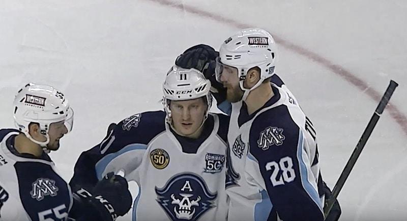 Eeli Tolvanen Milwaukee Admirals AHL / Pallomeri.net