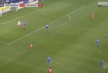 Video: Fredrik Jensen iski uransa ensimmäisen maalin Bundesliigassa