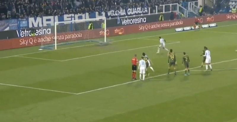 Video: Jesse Joronen pelasi nollapelin ja torjui upeasti rankkarin Serie A:ssa