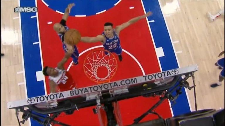 Video: Nolo kämmi NBA:ssa – NY Knicksin Kevin Knox teki oman korin