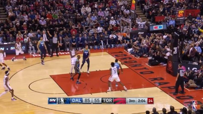 Video: Toronto Raptors suoritti uskomattoman nousun NBA:ssa – Dallas Mavericks suli totaalisesti