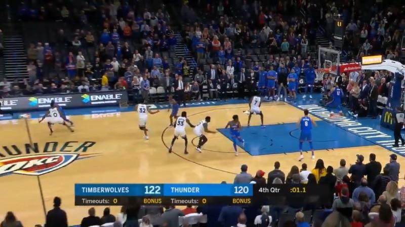 Video: NBA:ssa nähtiin uskomaton tasoituskori – pallo omassa päässä vielä 1,1 sekuntia ennen loppua