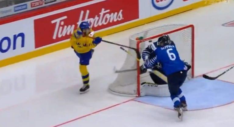 Video: Ruotsin Nils Höglander tekaisi fantastisen ilmaveivimaalin Suomen verkkoon