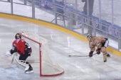 Video: Suomalaishyökkääjä iski ilmaveivimaalin Saksassa pelatussa ulkoilmaottelussa