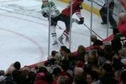 Video: Taylor Hall jyräsi suoraan Mattias Janmarkin polveen - ei saanut rangaistusta