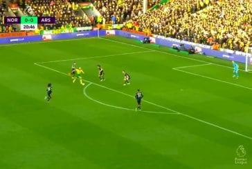 Video: Teemu Pukki osui Arsenalia vastaan Valioliigassa
