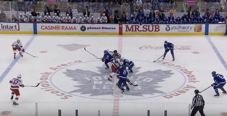 Video: Toronto teki 6 sekunnissa kaksi maalia – Mitch Marner karkasi suoraan aloituksesta läpiajoon