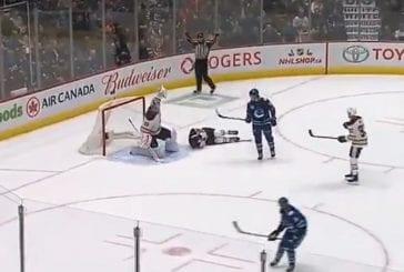 Video: Pelottava tilanne NHL:ssä - Oilesin Matt Benning sai kovan laukauksen päähänsä