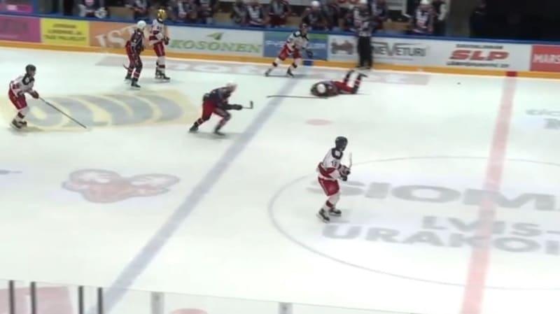 Video: TUTOn Mikke Levo sai viiden ottelun pelikiellon – taklaus rysähti suoraan päähän