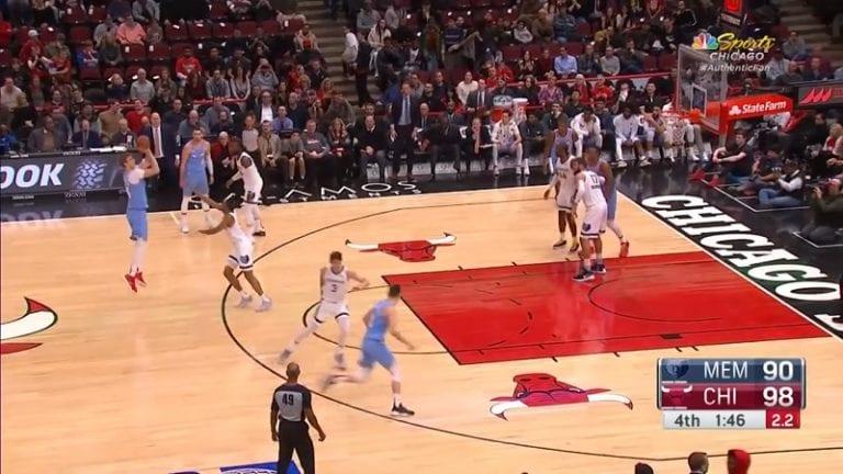 Video: Chicago Bulls voitti jälleen – Lauri Markkanen upotti tärkeän kolmosen