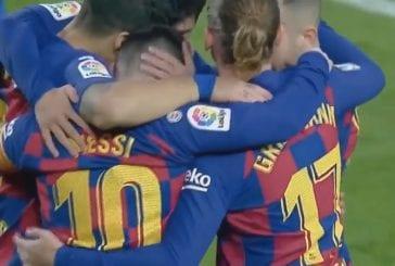 Video: Lionel Messi vietti uskomatonta neljän osuman iltaa – voittomaali häikäisevä soolomaali
