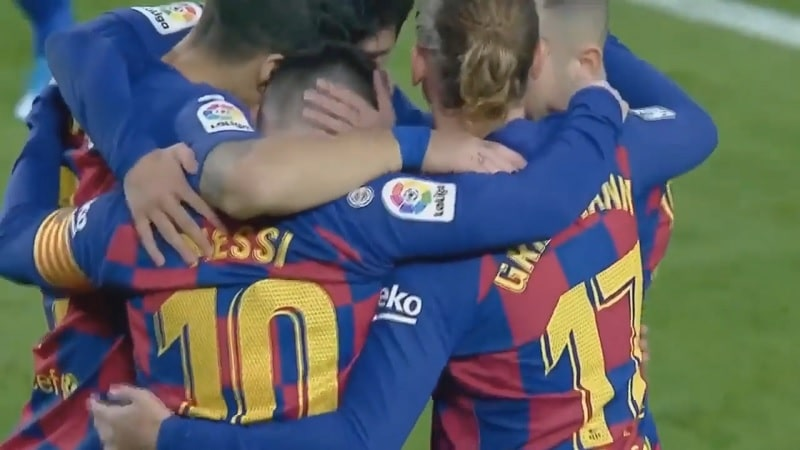 La Liga Lionel Messi Mallorca-Barcelona / Pallomeri.net