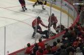 Video: NHL-tuomari koki kovia - Alexander Ovechkin jysäytti rajusti päin