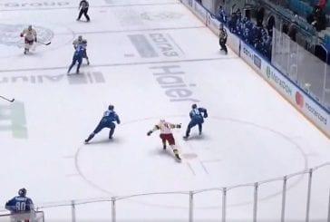 Video: Barys-hyökkääjä taituroi upeasti KHL:ssä - coast-to-coast -soolo lähti oman maalin takaa