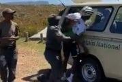 Video: Kansallispuiston vartijat mursivat olympialaisiin tähdänneen pyöräilijän käden