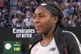 15-vuotias Coco Gauff järjesti jättiyllätyksen Australian Openissa