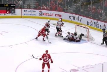 Video: Detroit ja Ottawa tarjoilivat NHL-kauden koomisimmat 10 sekuntia