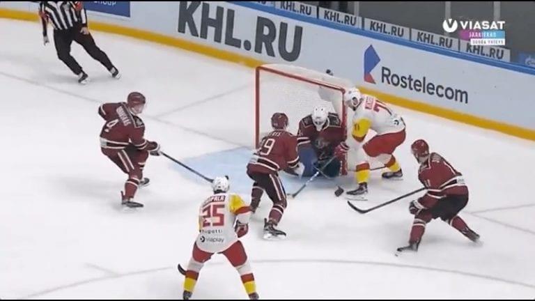 Video: Nicklas Jensenin yksilösuoritus oli koko pelin kuva – Jokerit murskasi Dinamo Riikan 7-0