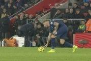 Video: Jose Mourinho sai keltaisen kortin – meni Southamptonin penkille vakoilemaan vastustajan taktiikoita